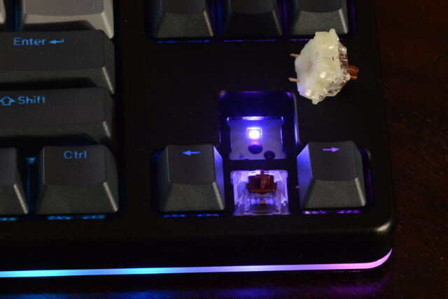 Switching out the Up and Down arrow keys