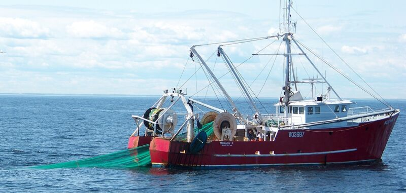Image of a fishing boat.