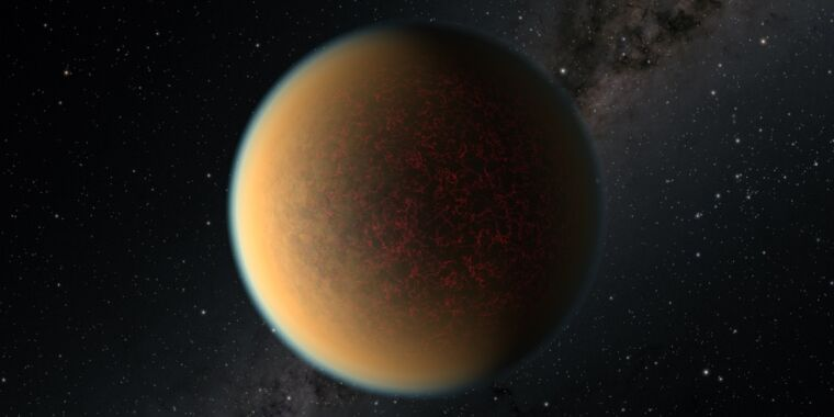 Researchers think a planet lost its original atmosphere, built a new one - Ars Technica