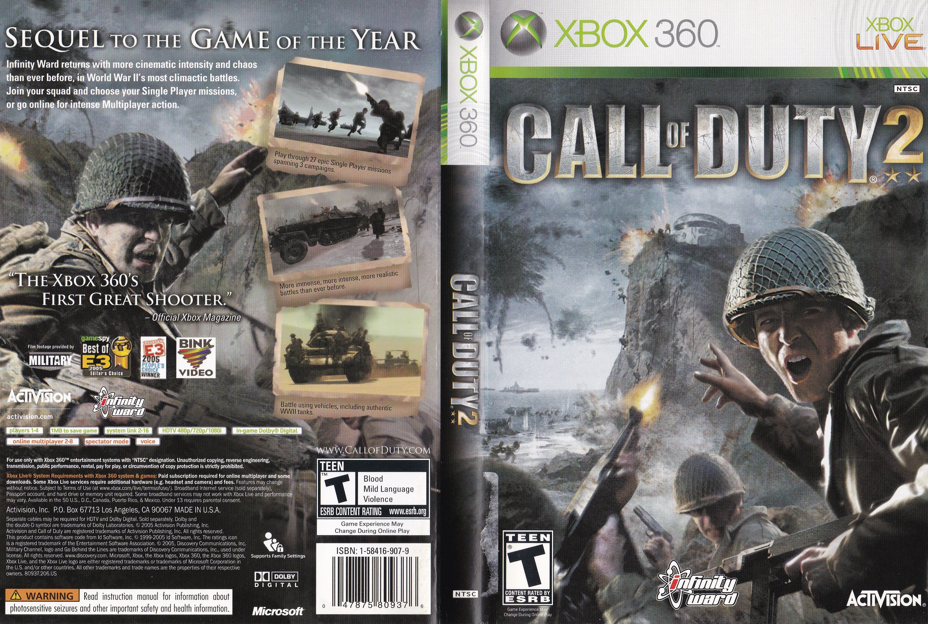 The success of the Xbox 360 version of <em>Call of Duty 2</em>at $60 cemented the new high-end price point in 2005.