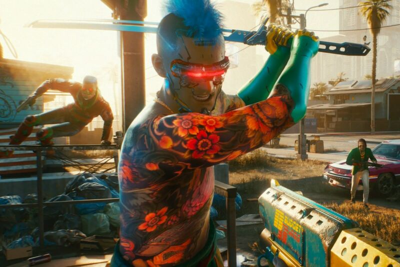 Bad news if you've been hoping to shoot sword-wielding laser-beam punks controlled by other humans, rather than AI...