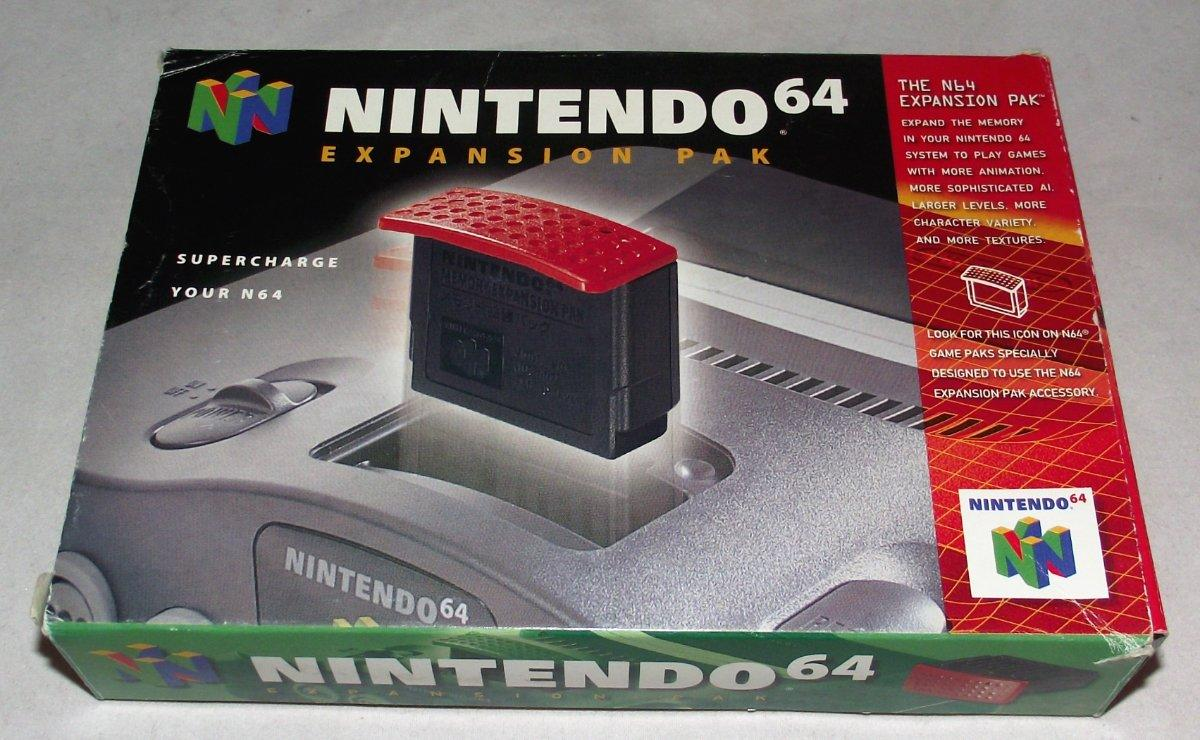 """Neither <em>Ocarina of Time</em> nor <em>Paper Mario</em> officially uses the N64 memory expansion pak, but it's key to making this in-game hack work.""""><img alt="""