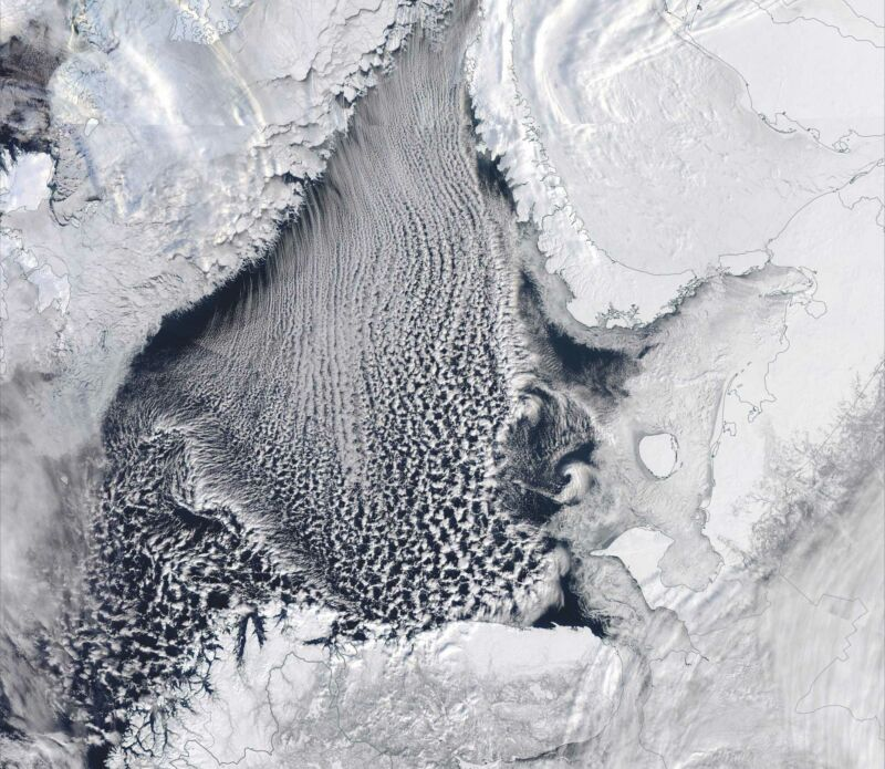 """Missing Arctic ice fueled the """"Beast of the East"""" winter storm"""