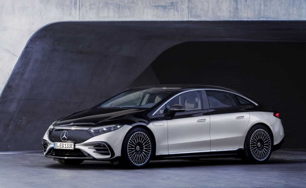 Mercedes goes all out with its new electric luxury sedan, the EQS