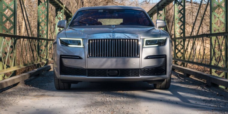 The Rolls-Royce Ghost: A magic carpet ride that costs as much as a house