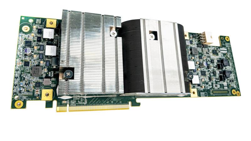 Foto de primer plano extremo del componente de la computadora.