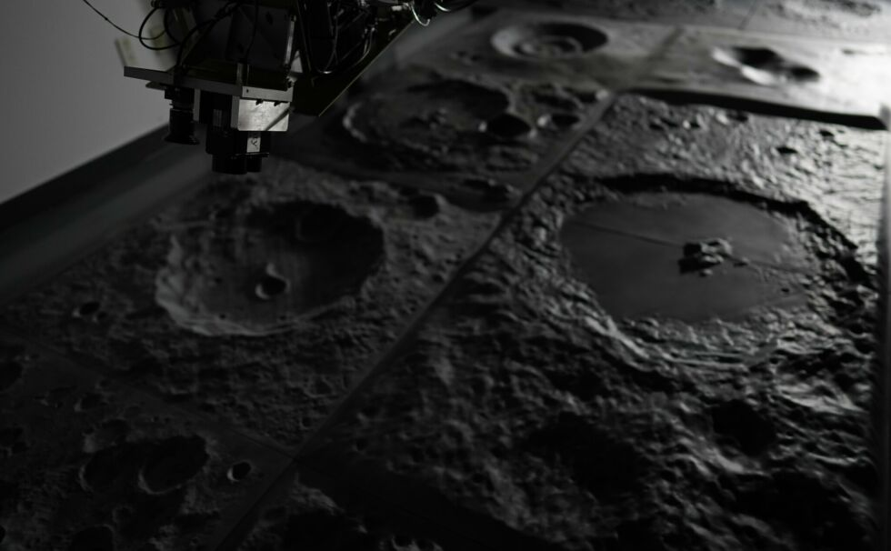 When Intuitive Machines needed a mock lunar surface for testing, Johnson Space Center stepped in to help.