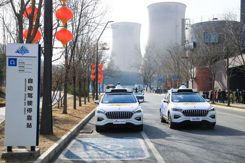 A Chinese company has started charging for fully driverless rides
