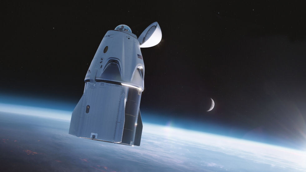 SpaceX's cupola will provide Crew Dragon with a great view.