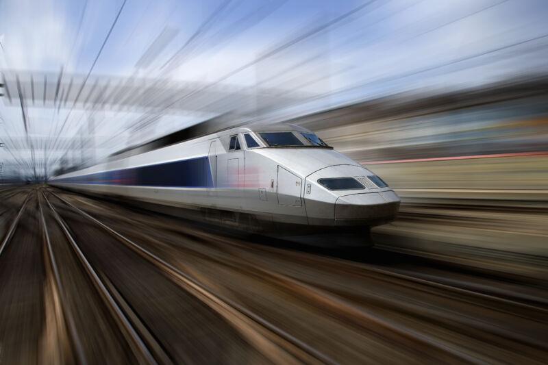 A <em>Train á Grand Vitesse</em>.