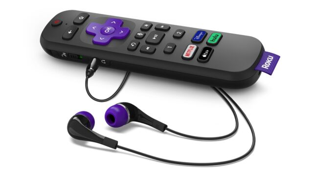 The Roku Voice Remote Pro is a $30 upgrade for existing Roku device owners who are willing to pay for a rechargeable battery, a built-in headphone jack, and more advanced voice control features.