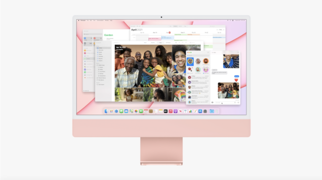 Apple announces new M1-based iMac in 7 fancy colors