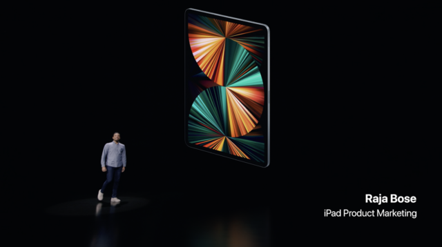 "iPad Pro gets M1 chip, ""Liquid Retina"" mini-LED screen"