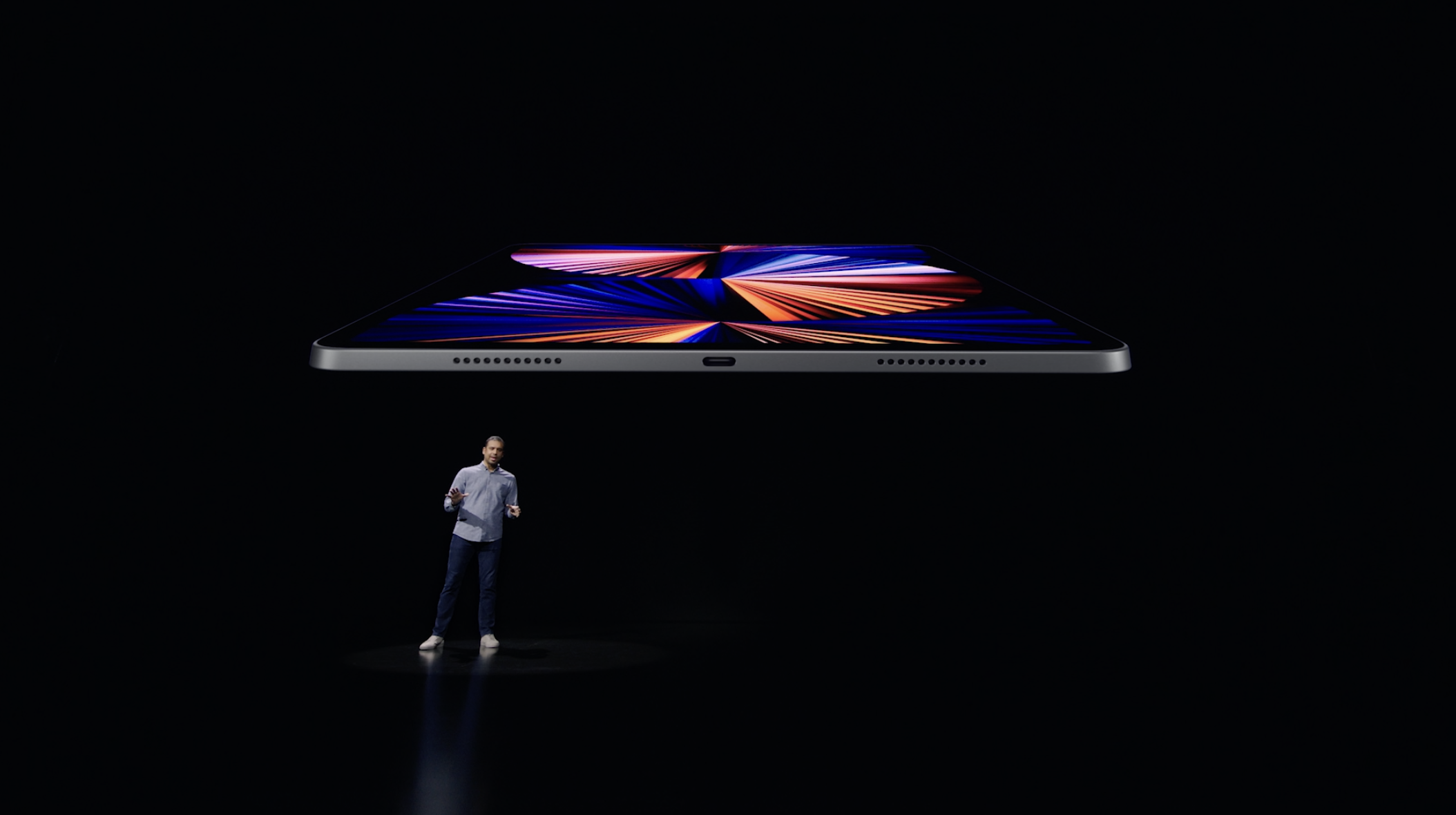 The new iPad Pro comes with Apple's M1 chip and a Thunderbolt port, among other improvements.