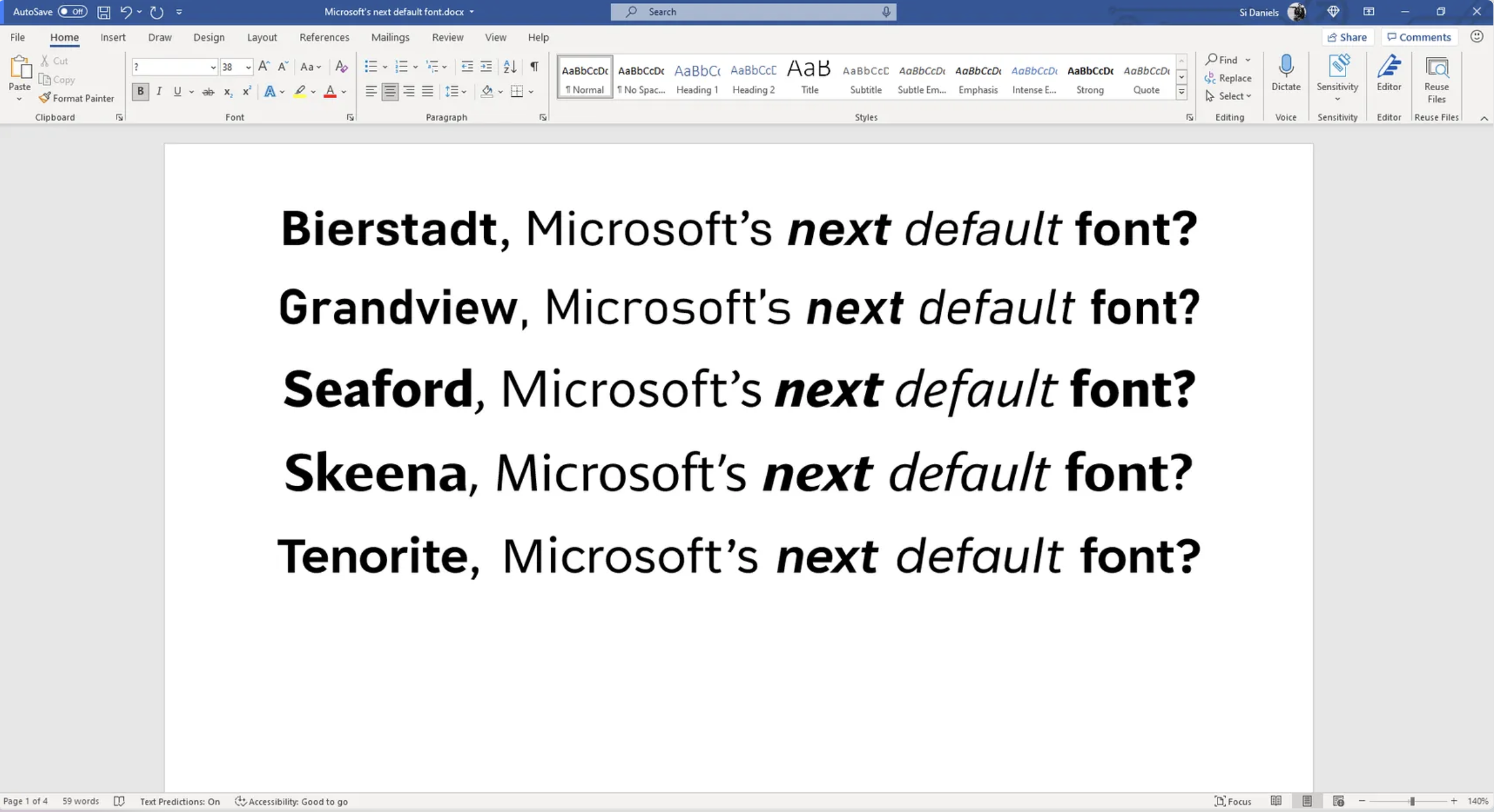 Say hello to the candidates hoping to get the final rose from the Microsoft Design Team.