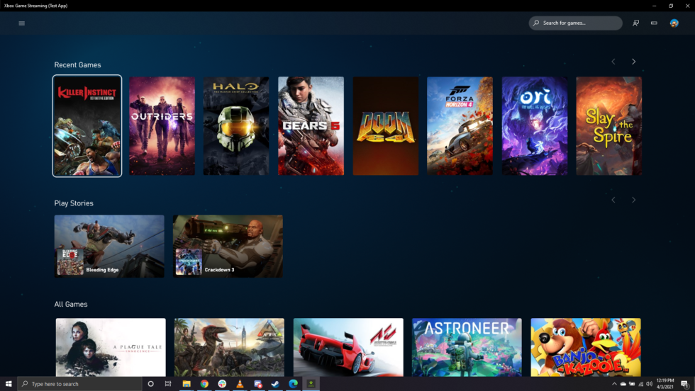 Xbox Game Streaming app is now live on Windows—via a sneaky download