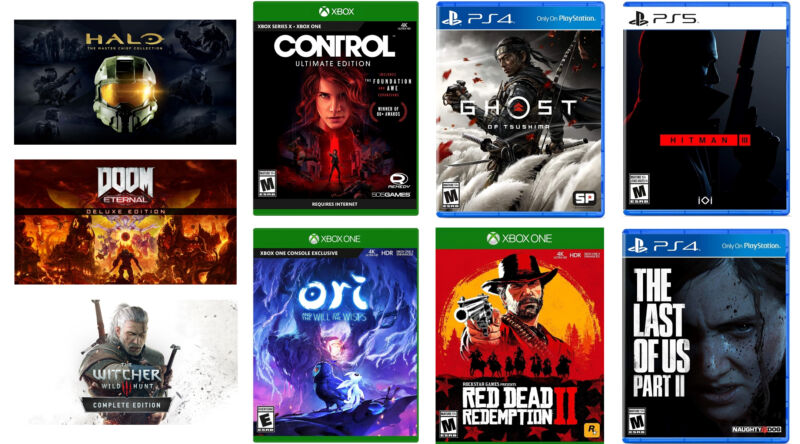 The best game deals we could find in the PlayStation and Xbox spring sale