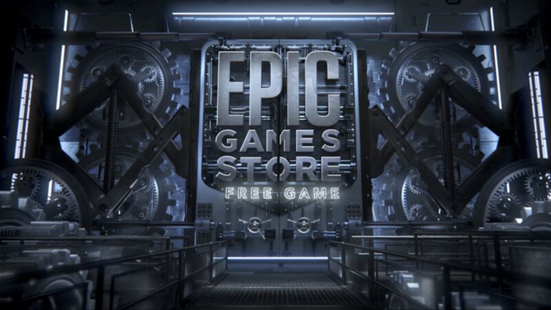 Promotional image for Epic Game Store.