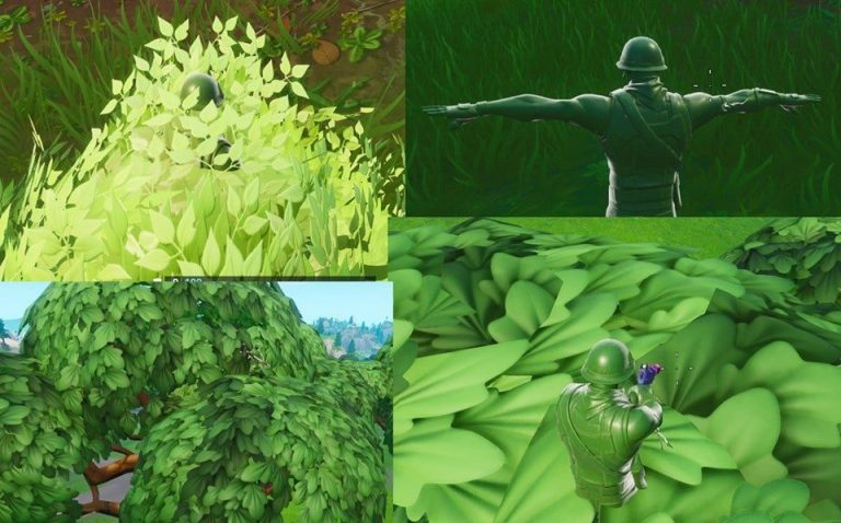"<em>Fortnite</em>'s ""Plastic Patroller"" skin had to be tweaked to make players more visible in grass and other greenery."