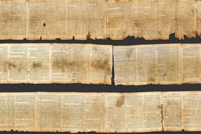 More than one scribe wrote the text of a Dead Sea Scroll, handwriting shows