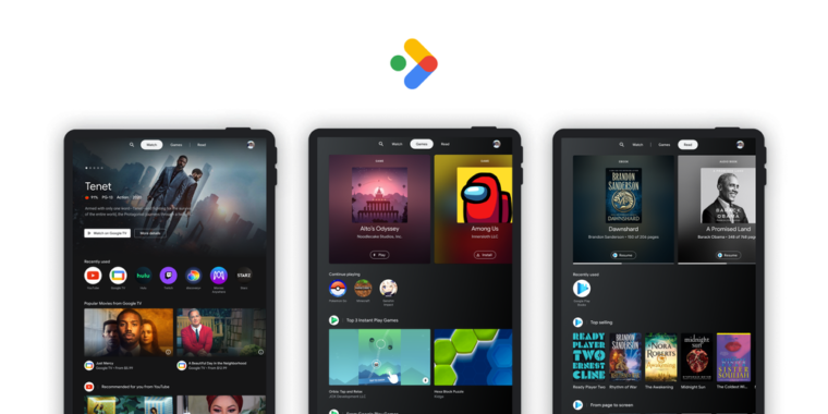 "Google tries to resurrect Android tablets with ""Entertainment Space"" thumbnail"