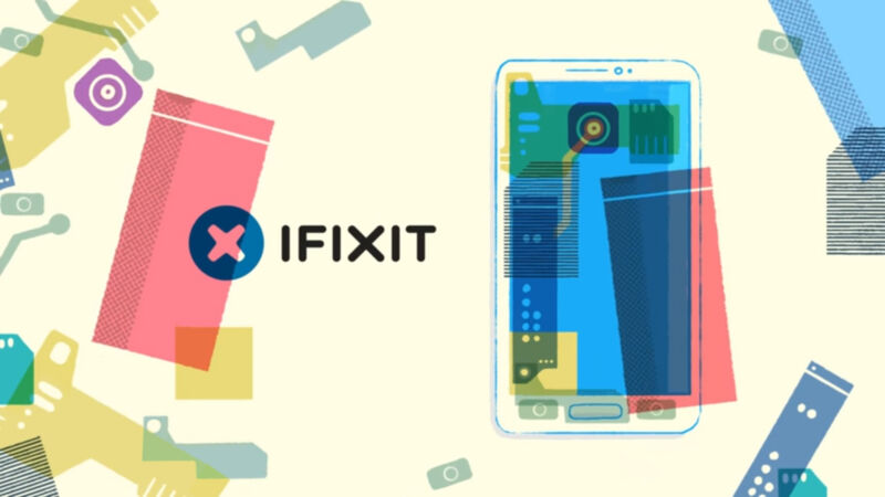 iFixit appears in Samsung's original upcycling video.