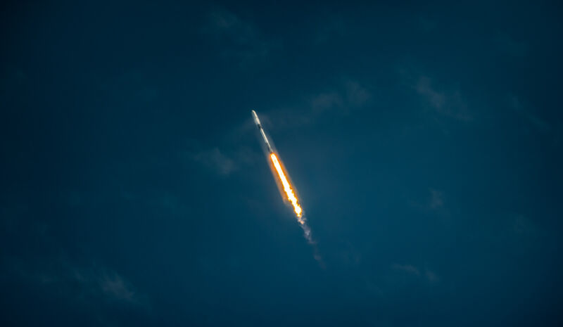 The Falcon 9 rocket launches its 100th consecutive, successful flight on Wednesday.