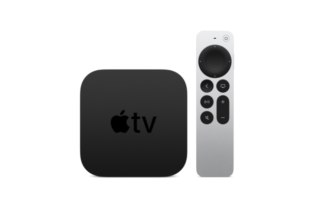 The new Apple TV 4K.