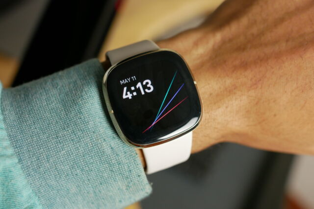 Fitbit's Sense has all the sensors you could ask for in a fitness tracker and deeper health insights and guidance than Apple Watches offer, especially with Fitbit's Premium membership.