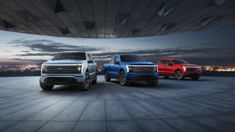 Ford's range of all-electric F-150 Lightning pickup trucks will start at just $39,974 before tax credits.