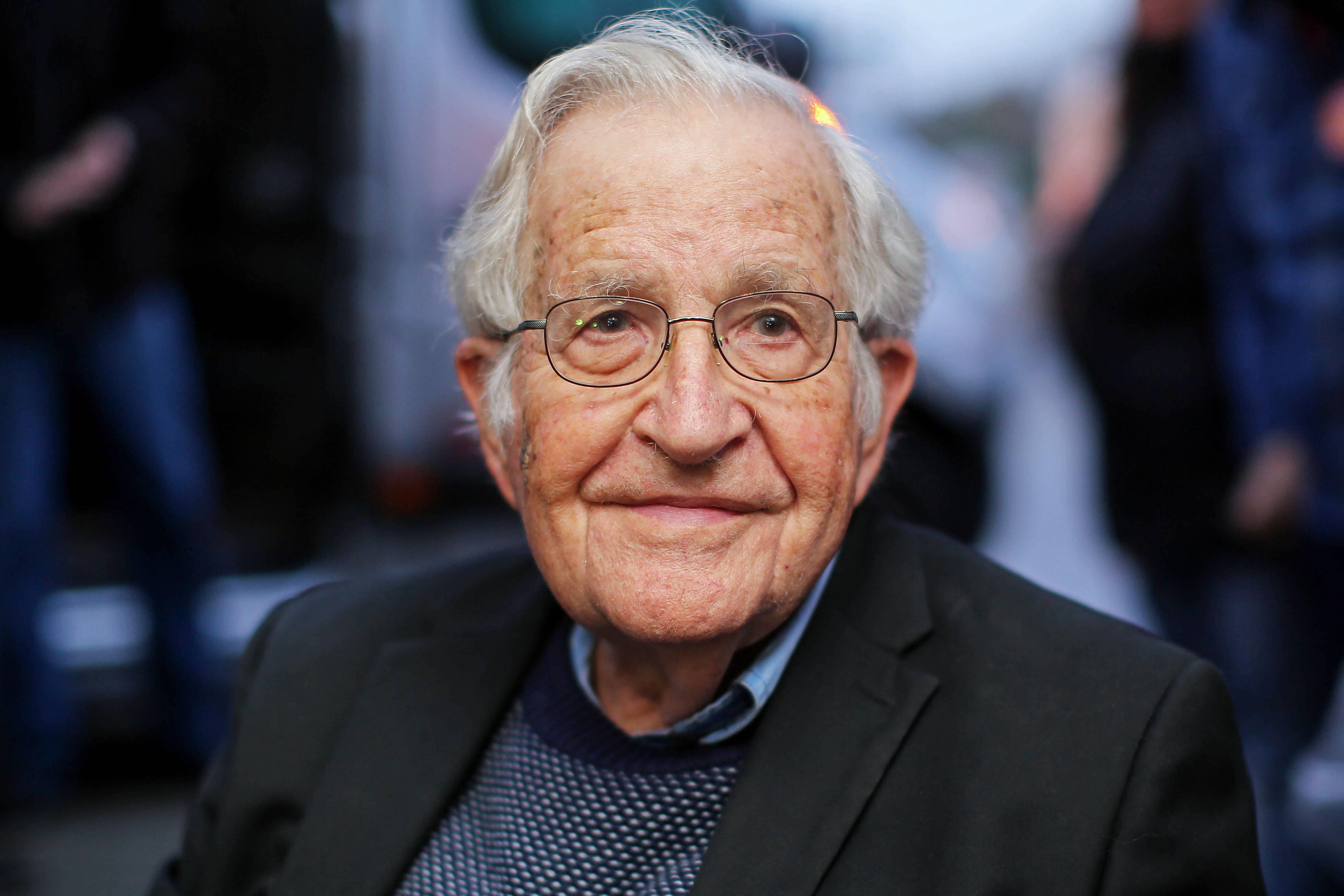 Linguist Noam Chomsky in 2018.