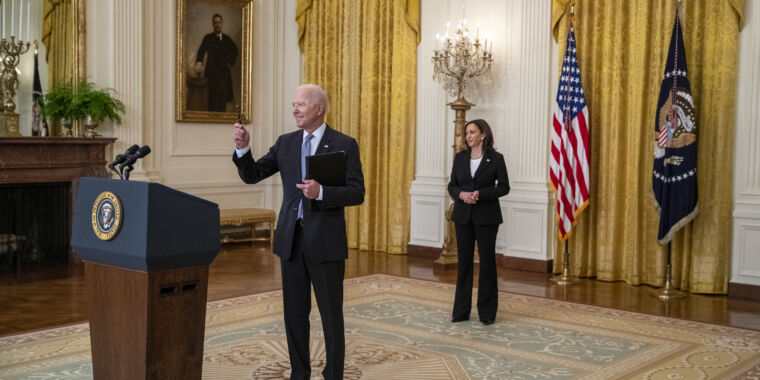 Biden pledges to share 20 million COVID-19 vaccine doses with the world