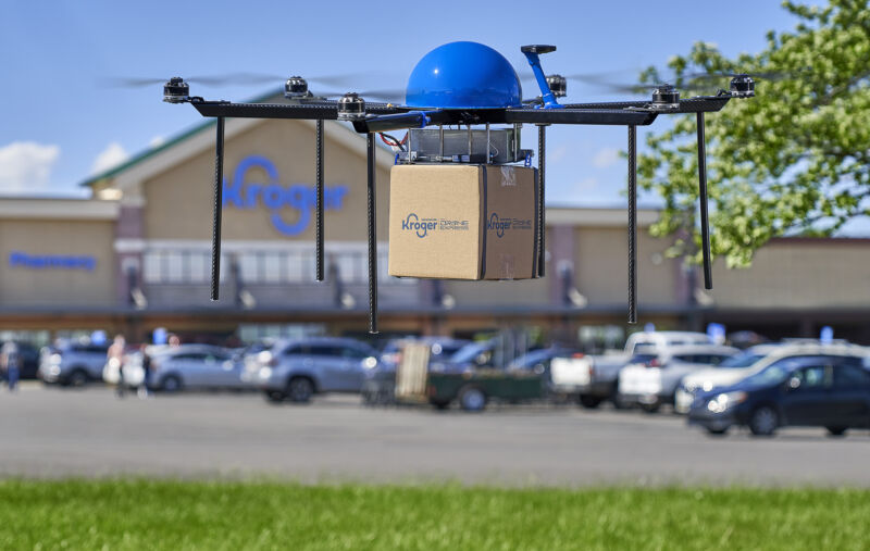 Kroger will begin drone deliveries in Ohio this week