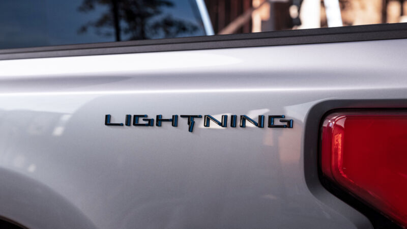 If you thought Ford would find it hard to resist reviving the Lightning brand for its electric F-150 pickup, you'd be right.