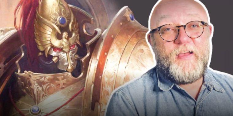 Unsolved mysteries of the Warhammer 40k universe with loremaster Dan Abnett