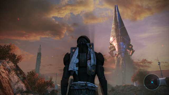 The remastered action-RPG collection <em>Mass Effect: Legendary Edition</em>.