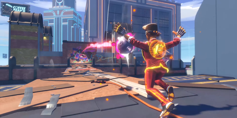 Knockout City is the best team-deathmatch game we've played in years
