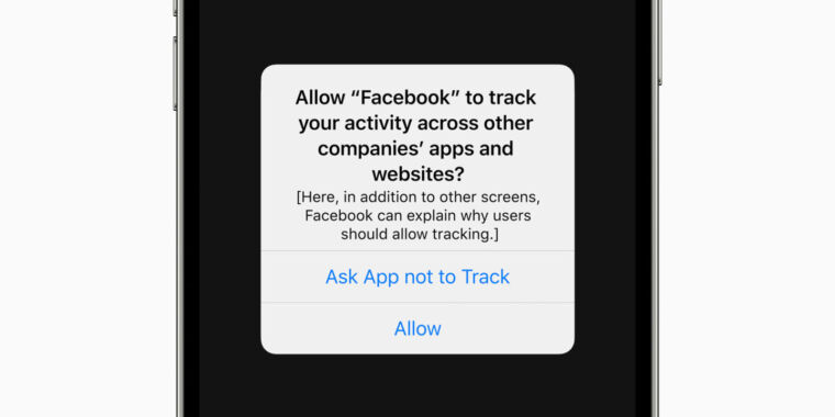 96% of US users opt out of app tracking in iOS 14.5, analytics find - Ars Technica