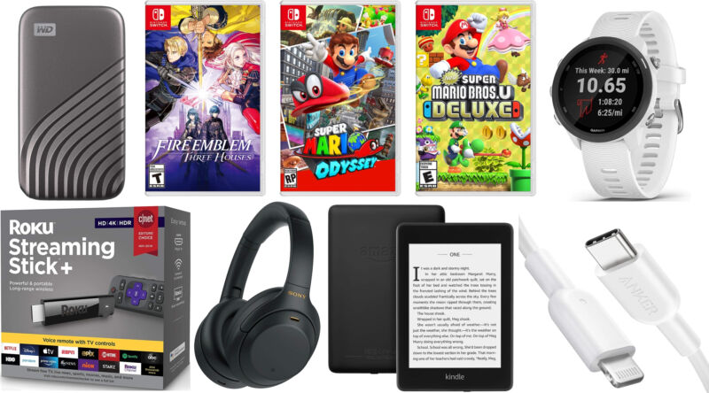 Today's best deals: $ 40 Nintendo Switch games, Kindle Paperwhite, and more.