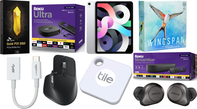 Today's best tech deals: Roku media streamers, Apple iPad Air, and more