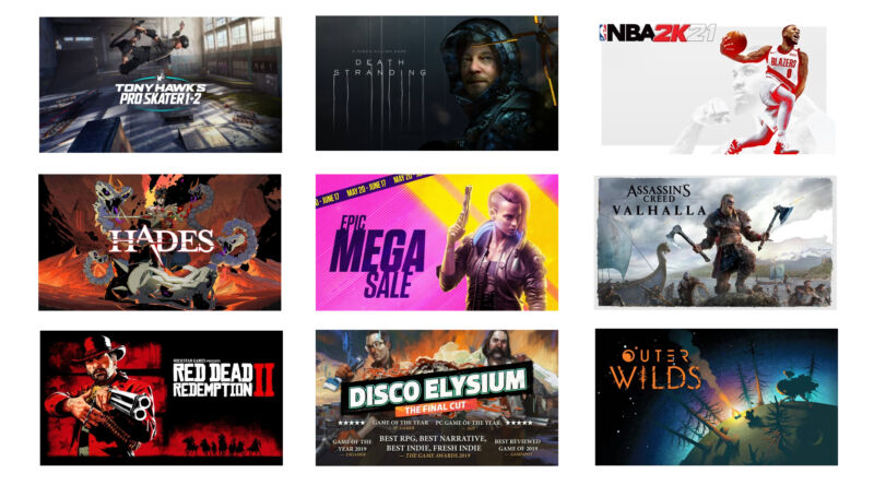 """Epic's """"Mega Sale"""" returns with tons of discounts on notable PC games"""