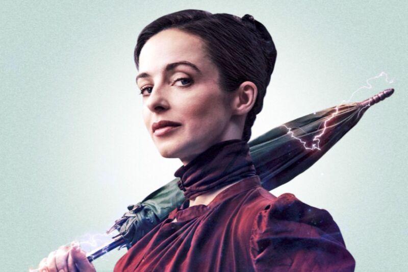 Laura Donnelly stars as Amalia True in HBO's Victorian-era sci-fi drama, <em>The Nevers</em>.
