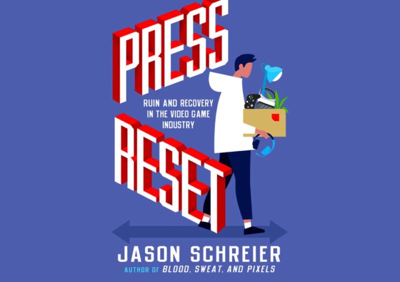 La última mirada en profundidad de Jason Schreier a la industria de los juegos estará disponible en las principales librerías el 11 de mayo.