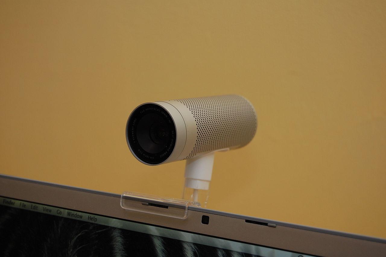 This 2008-era Apple iSight camera featured a similar