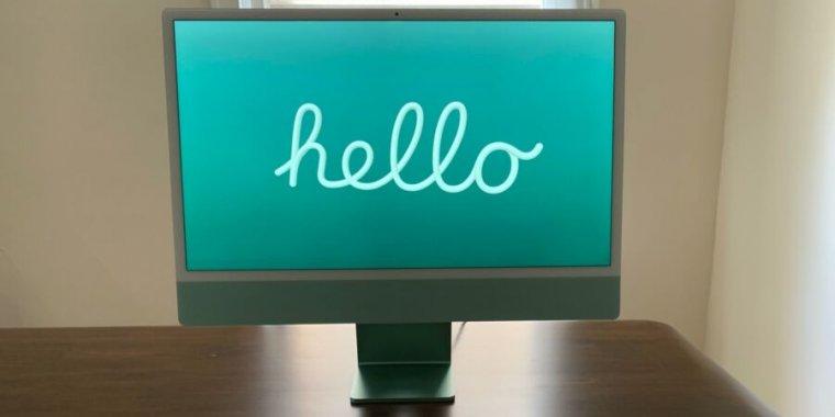 <p>24-inch iMac review: There's still no step three thumbnail