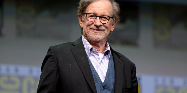 Steven Spielberg's production company signs multifilm deal with Netflix