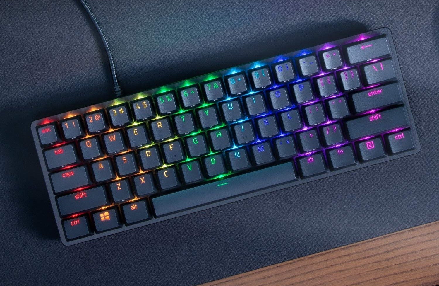 Razer's Huntsman Mini is an ultra-compact mechanical keyboard that works well for games.