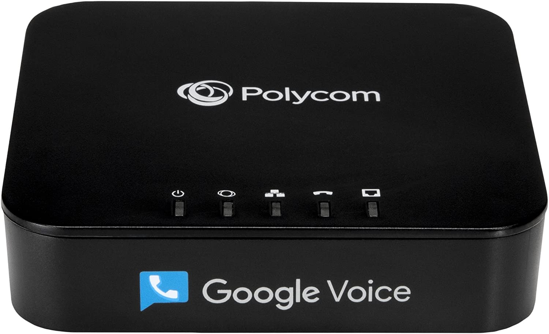 Polycom's Google Voice adapter.