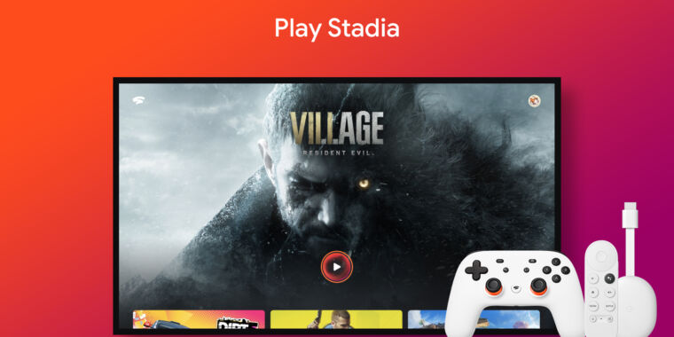 18 months after launch, Google Stadia now supports Android TV
