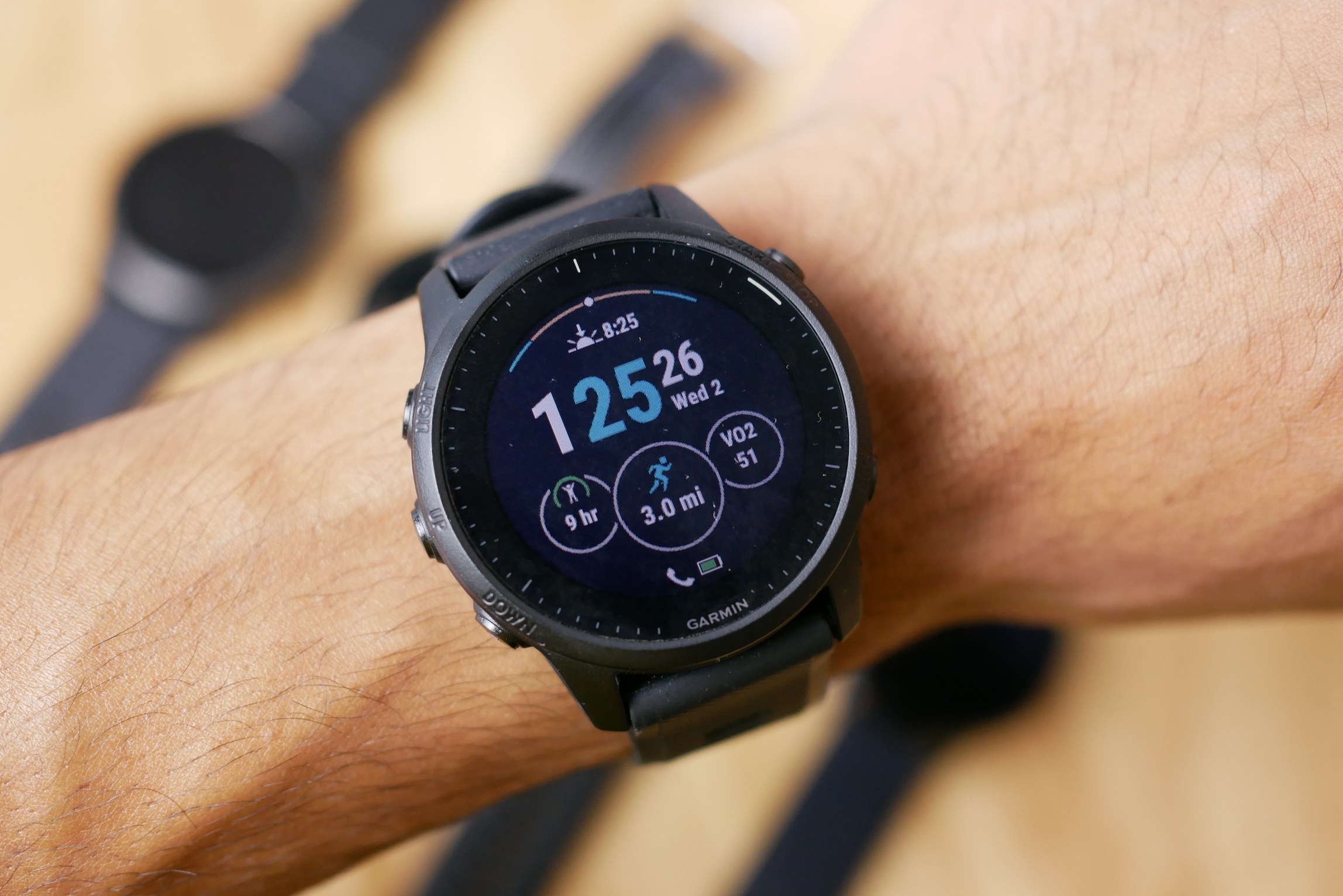 The Garmin Forerunner series is a top choice for runners.